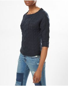 Buy the latest Women's Designer Fashion at Atterley with hundreds of luxury boutique designer brands including dresses, coats, shoes & accessories. Boutique Design, Navy Tops, Knitwear, Branding Design, Pullover, Clothes For Women, Knitting, Coat, Sweaters