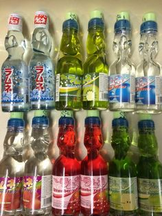 Authentic Ramune Nishan Japanese Soda   Oz Carbonate Marble Soft Drink All Flavor