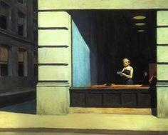 Edward Hopper - New York Office