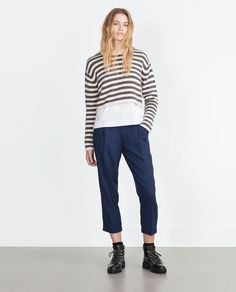 LOOSE-FIT TROUSERS-Trousers-TRF | ZARA United States