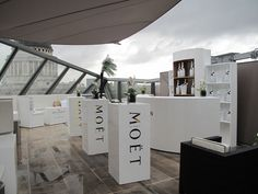 Moet Ice Imperial Launch at the One New Change Madison Restaurant Bar & Cafe Rooftop by Elemental Design.