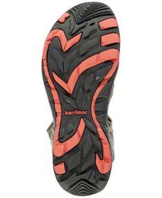 f864d6534beb Karrimor Women's Salina Leather Hiking Sandals from Eastern Mountain Sports  - Tan/Beige 10 Sports