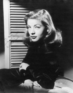 Photo of Lauren Bacall by Bert Six, 1946
