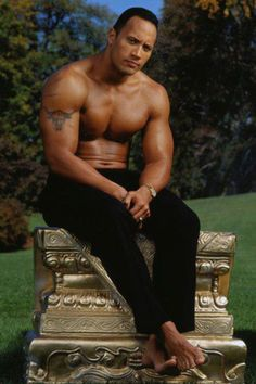 "Dwayne ""The Rock"" Johnson HOT!!!!"