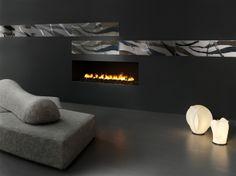 Espressioni D'autore-Tagli D'autore-TDA2N-With Fireplace-DesignTaleStudio-Creative Lab-By Ceramiche Refin S.p.A.