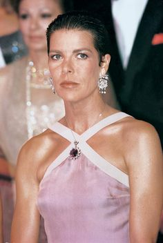 Princess Caroline of Hanover and her daughter Princess Charlotte Casiraghi, right, arrive for the haute couture collection of Italian fashion designer Andrea Casiraghi, Charlotte Casiraghi, Grace Kelly, Prince Of Monaco, Monaco Princess, Princess Stephanie, Princess Charlotte, Glamour, Beatrice Borromeo