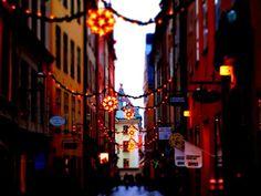 Matkojeni blogi: Joulukatu jouluvaloineen: Köpmangatan, Tukholma
