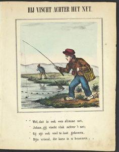 to be too late in the field - achter het net vissen