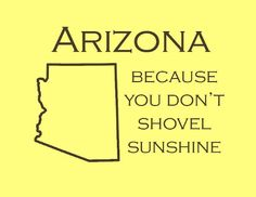 3 Years ago today Garrett and I arrived in Arizona to start our lives and we have loved every minute of it here. Arizona is my home :) State Of Arizona, Arizona Usa, Visit Arizona, Arizona Travel, Tucson Arizona, Arizona Humor, Living In Arizona, Desert Life, Down South