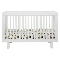 Babyletto Hudson 3-in-1 Convertible Crib with Toddler Rail (Can't decide between the gray and white)