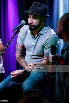 A. J. McLean of the Backstreet Boys performs at the Q102 Performance Theater on June 24, 2013 in Bala Cynwyd, Pennsylvania.