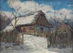 . Romantic Paintings, Snow Art, Northern Italy, Prague, Impressionism, Art Nouveau, Fine Art, Landscape, Scenery