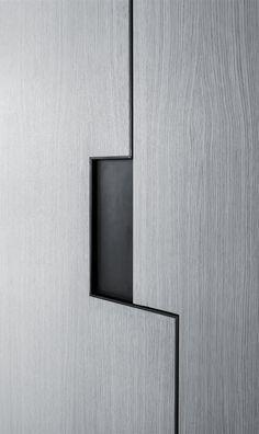 Pitsou Kedem | Art Collector Apartment 2 | cabinet detail