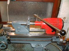 Powered Tailstock by John Stevenson -- Homemade drilling tailstock intended for a Myford ML7 lathe. Powered by a surplus 3000 rpm fan motor. http://www.homemadetools.net/homemade-powered-tailstock