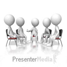ID# 17543 - Group Talk Session - PowerPoint Animation