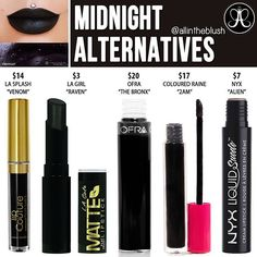 #MIDNIGHT ALTERNATIVES  How was everyone's Black Friday? #allintheblush #makeupslaves #trendmood #vegas_nay #makeup #beauty #hudabeauty #slave2beauty #insta_makeup #norvina #glamrezy #amrezy #makeupartist #motd #mua #makeupaddict #wakeupandmakeup #dupethat #anastasiabeverlyhills #abh