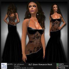 SLC Gown Romance black