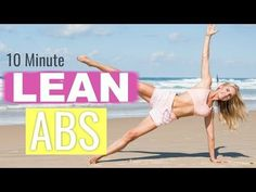 Lean Abs Workout - 10 MINUTE FLAT BELLY | Rebecca Louise - YouTube