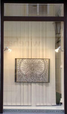 Art Galerie DOOKa, Praha,  z výstavy Portréty* obraz KALI* Johana Hájková r.2012 https://cz.pinterest.com/johanahajkova14/johanah-perokresby-reprofoto-obrazy/
