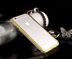 Luxury Crystal Rhinestone Diamond Gem Bling Metal Case Bumper For iPhone 6/6S #UnbrandedGeneric