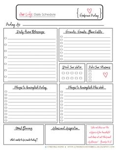 488 best weekly daily planner printable inserts images on pinterest