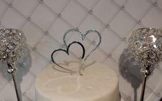 Wedding Cake Topper Swarovski Crystals by SpectacularEvents, $30.00