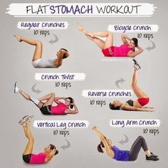 flat stomach workout!