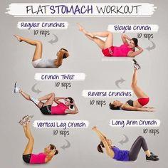flat stomach workout!