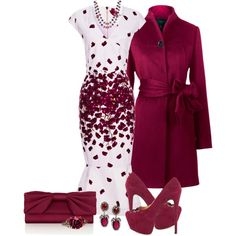 A fashion look from December 2013 featuring SUNO New York dresses, Yanny London coats and Luichiny pumps. Browse and shop related looks.