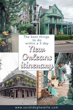 Traveling to New Orleans in the near feature? Find out the best things to do, to plan your perfect 3-day itinerary for New Orleans. | New Orleans | Nola | New Orleans Itinerary | Things to do in New Orleans | weekend in New Orleans | 3 days in New Orleans| City trip New Orleans | City break New Orleans | travel tips New Orleans | #neworleans #NOLA