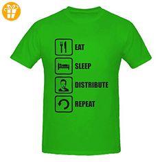 Breaking Bad Inspired Eat Sleep Distribute Repeat Jesse Graphic Men's T-Shirt Medium (*Partner-Link)