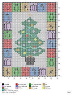CHRISTMAS SAMPLER by KATHY K. -- WALL HANGING                                                                                                                                                                                 More