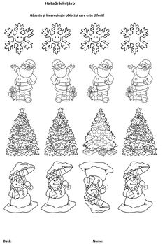 Preschool Coloring Pages, All Things Christmas, Preschool Activities, Diana, Christmas Games, Fimo, Christmas, Kids