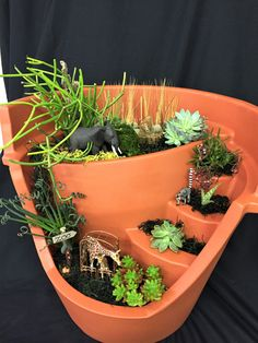 How about a zoo custom pot?