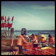 Fishermen in Binz auf Rügen