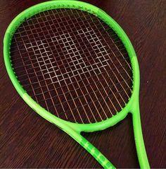 Wilson Racquets, Pro Tennis, Different Sports, Rackets, Tennis Racket, Neon Green, Activities, Videos, Photos