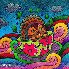 Do you like this #cutie in the cup?   ----------------- Let more people see your masterpiece   Tag/DM me or #colorfly #colorflyapp #colorflyart to spread your art. ----------------- #freeapp #coloringapp #pigmentapp #adultcoloringapp #coloring #coloringbook #coloringbookforadults #coloringbooks #coloringpages #coloringtime #adultcoloring #stressfree #stressrelief #colorfy #colorfyapp #picoftheday #recolor #fun #colortherapyapp #art #love #塗り絵 #ぬりえ #painting #cute #rabbit