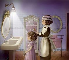 Ilustración Nina de San