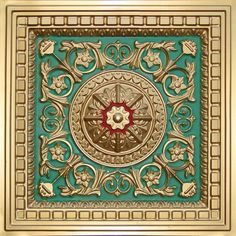 Faux Tin Ceiling Tile Drop In 24 X 215
