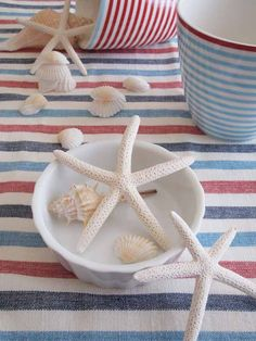 Patriotic-Nautical Table scapes