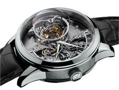 """""""世界で最も複雑な時計""""から2つの特殊機構を取り込んだ、モダンなスタイリングのユニークピース。"""