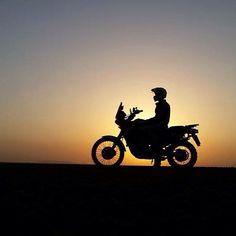 #Sunset #MotoTravel #NiceShot #Yamaha #Xt660z #Adventure #WorldAdventureRiders by worldadventureriders
