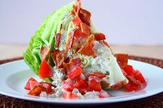 BLT Wedge Salad with dressing recipe