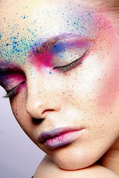 Full Colors. Creative makeup, facepaiting.
