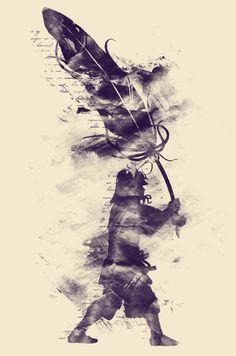 Black and White - 2d Art