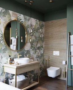 Small Bathroom Renovations 601863937691957017 - The Tropical Deco Room by Benjamin Decoceram Source by Bad Inspiration, Bathroom Inspiration, Interior Inspiration, Modern Bathroom Design, Bathroom Interior Design, Minimal Bathroom, Modern Toilet Design, Eclectic Bathroom, Bathroom Designs