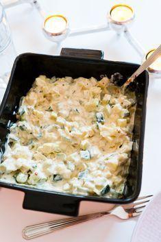 Fransk potatissallad och Falsk Potatissallad