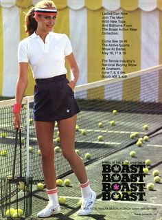 "Blue tennis skirt from the Boast Archive. We are celebrating our 40 years in - Blue tennis skirt from the Boast Archive. We are celebrating our 40 years in "" Blue - Tennis Outfits, Tennis Wear, Tennis Skirts, Tennis Clothes, Nike Skirts, Nike Outfits, Golf Outfit, Sport Outfits, Summer Outfits"