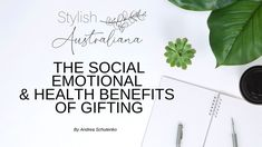 It's a lovely feeling, finding perfect gift for that special person - but did you know that gifting brings social, emotional and health benefits? Stylish Australiana explores why our brains reward us for finding the 'perfect gift' and how even just remembering giving a gift contributes to our happiness. Australian Gifts, Gifted Education, Special Person, Health Benefits, Gifts For Kids, First Love, Happiness, Feelings, Stylish