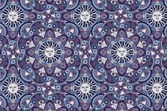 Seamless abstract esoteric pattern by Sunny_Lion on Creative Market